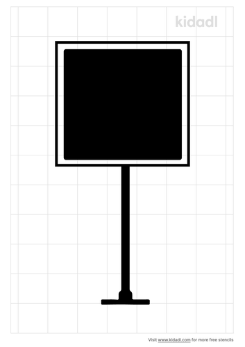 road-sign-stencil
