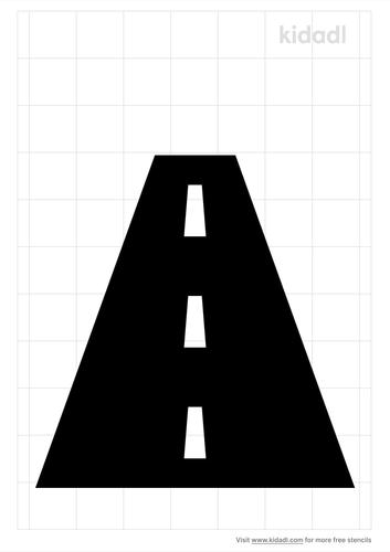 road-stencil