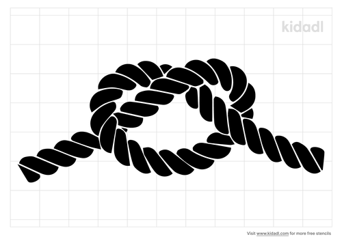 rope-knot-stencil