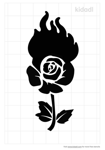 roses-bursting-into-flames-stencil