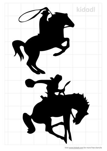 roughrider-stencil