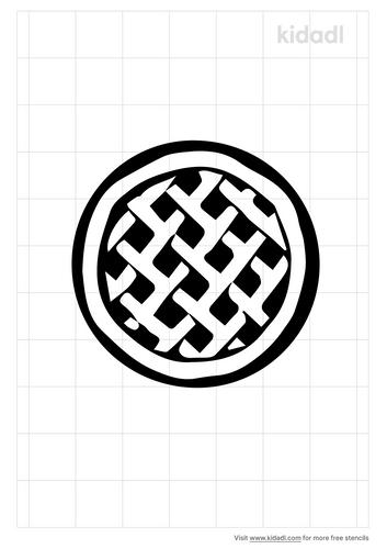 round-apple-pie-crust-stencil