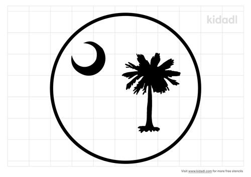 round-sc-flag-stencil