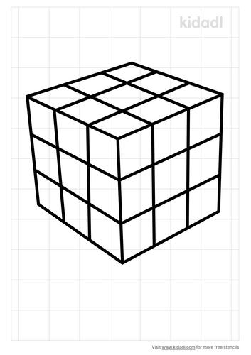 rubik-cube-stencil