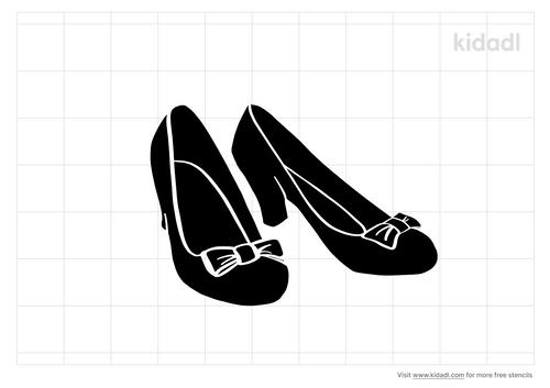ruby-slippers-stencil