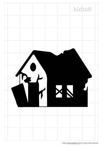 ruined-house-stencil