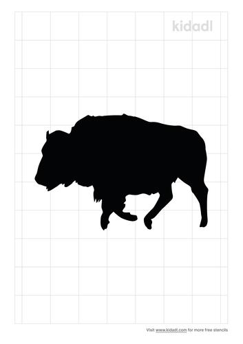 running-buffalo-stencil.png
