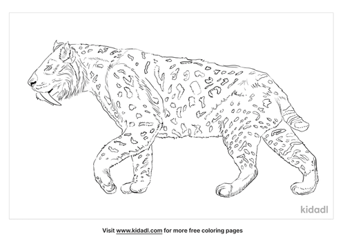 saber-toothed-tiger-coloring-page