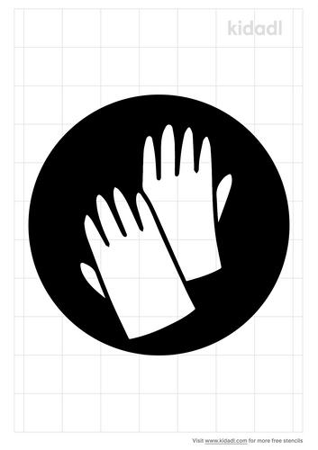 safety-gloves-stencil