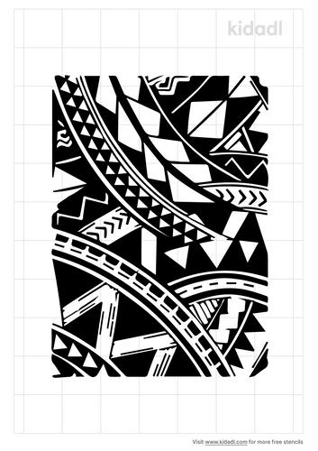 samoan-design-stencil