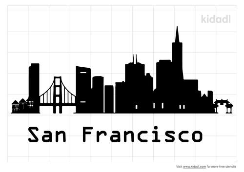 san-francisco-cityscape-stencil