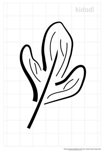 sassafar-leaf-stencil