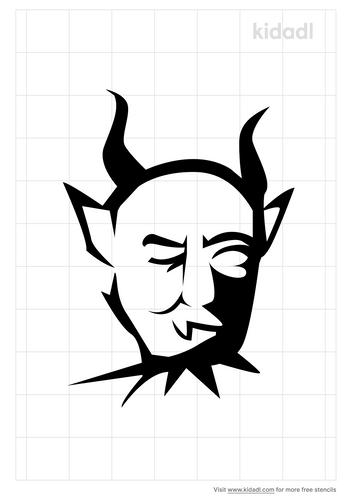 satan-stencil