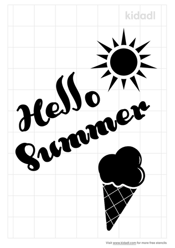 sayings-summer-stencil