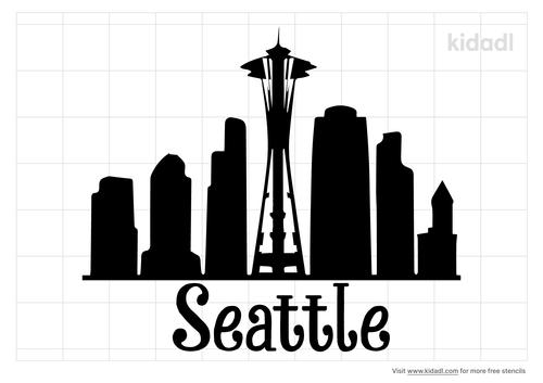 seattle-stencil