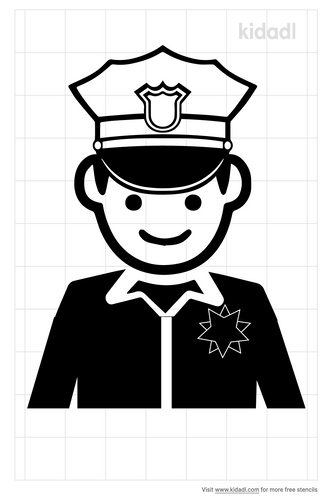 security-police-stencils