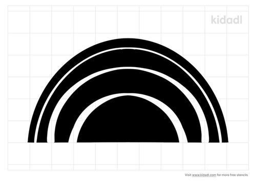 semi-circle-stencil