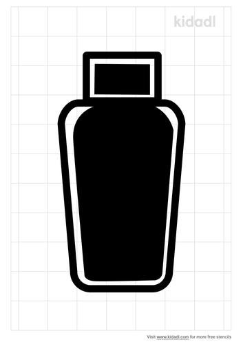 shampoo-stencil
