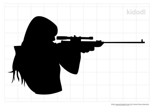 shooter-stencil