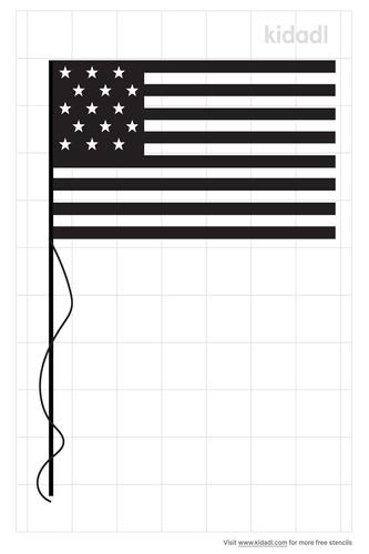 simple-american-flag-stencil