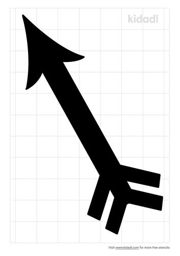 simple-arrow-stencil