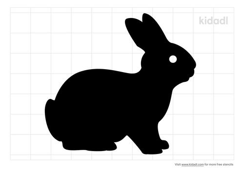 simple-bunny-stencil