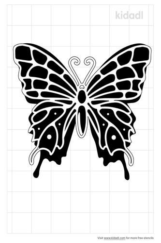 simple-butterfly-stencil