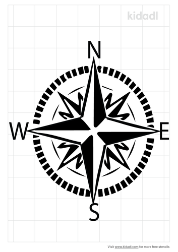 simple-compass-stencil