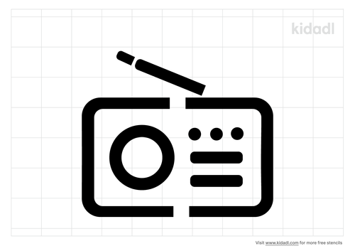 simple-radio-stencil