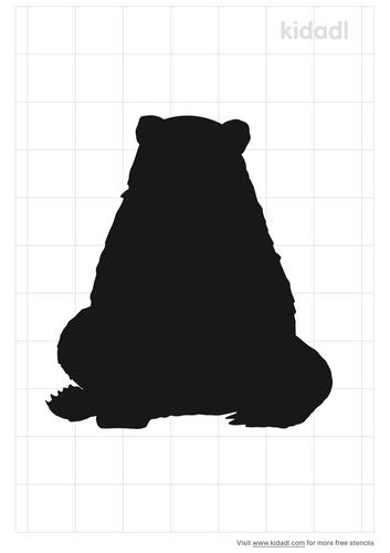 sitting bear-stencil.png