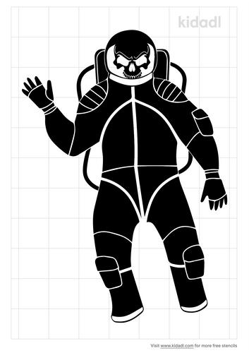 skull-spaceman-stencil