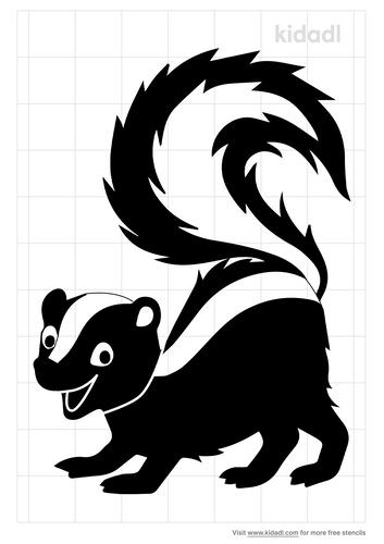 skunk-stencil