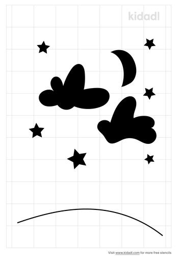 sky-stencil
