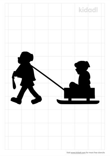 sleigh-ride-stencil