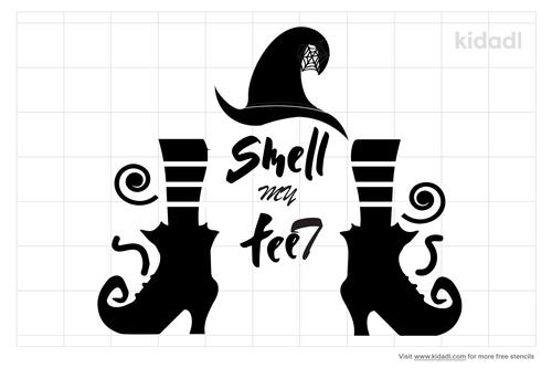 smell-my-feet-witch-stencil