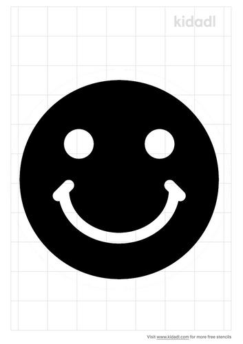 smile-face-stencil