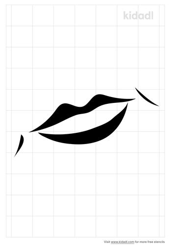 smile-lips-stencil
