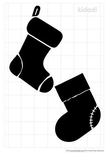 snow-sock-stencil