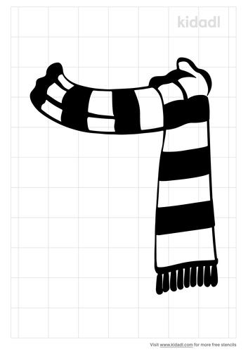 snowman-scarf-stencil