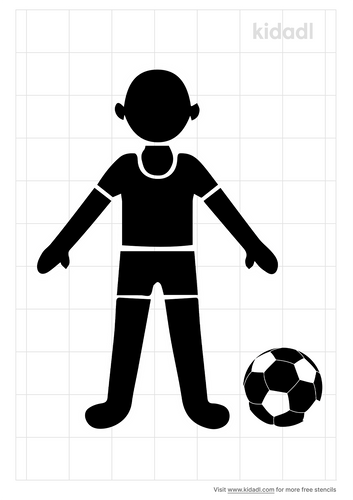 soccer-doll-stencil