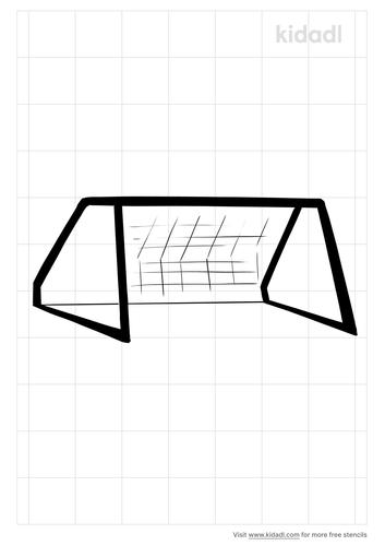 soccer-net-stencil