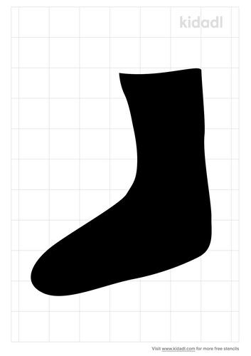 sock-stencil