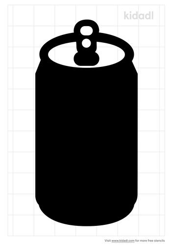 soda-can-stencil