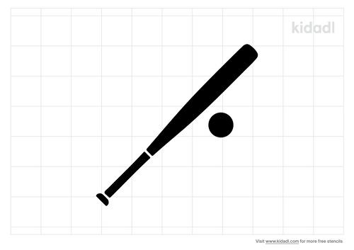 soft-ball-bat-stencil.png