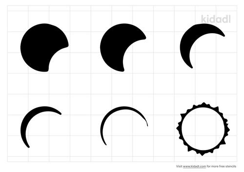 solar-eclipse-stencil