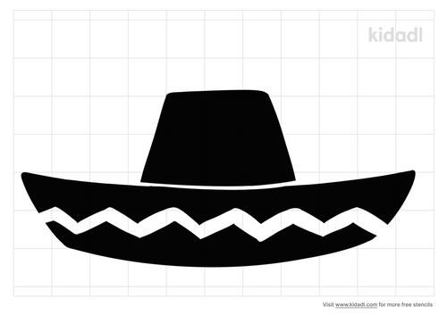 sombrero-stencil