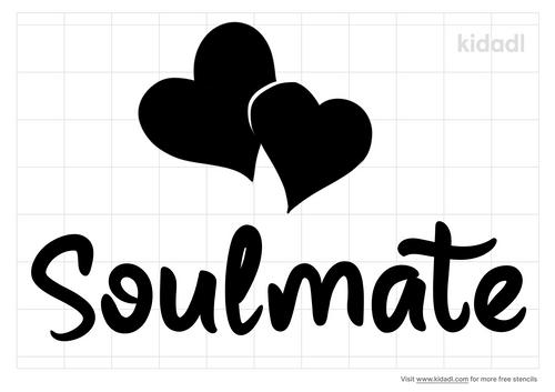 soulmate-stencil