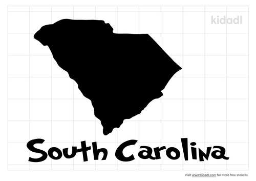 south-carolina-stencil
