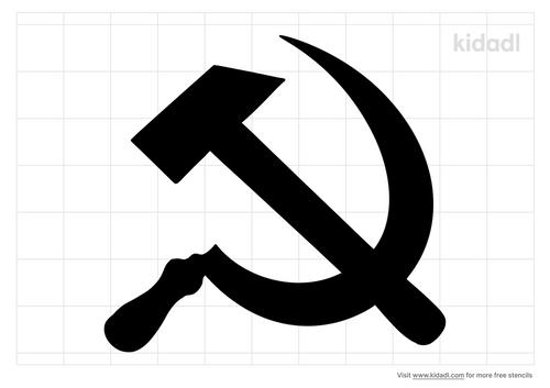 soviet-hammer-and-sickle-stencil