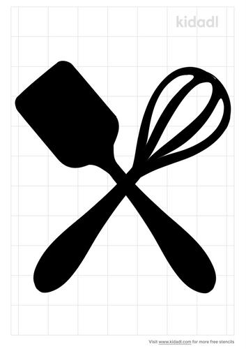 spatula-and-wisk-stencil